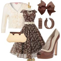 """Vintage Spring"" by mrspainter on Polyvore"