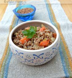 Zöldséges hajdina | Ottis főz Quinoa, Spicy, Oatmeal, Tasty, Breakfast, Paleo, Food, The Oatmeal, Morning Coffee