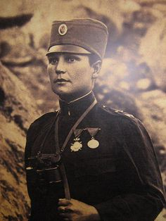 Milunka Savic one of the most decorated women in the history of warfare - veteran of the two Balkan wars and WWI [540x920]