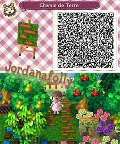 """Jordanafolly-Creations articles tagged """"Sol"""" – Page 2 – Jordanafolly-Créati … Animals Crossing, Animal Crossing Game, Acnl Qr Code Sol, Acnl Paths, Theme Nature, Motif Acnl, Natures Path, Ac New Leaf, Happy Home Designer"""