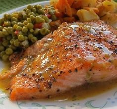 Recipe of the Day: Brown Sugar Roasted Salmon