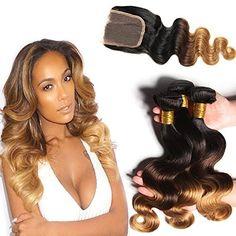 Amazon.com : Top Quality Peruvian Virgin Body Wave Weave One Bundle Honey Blonde #27 Human Hair Wefts Pure Color Hair Weaves Deal with Hair Extensions 10 inch : Beauty