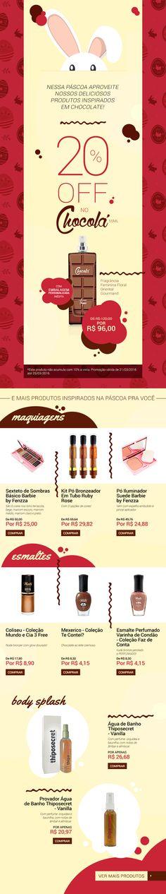 THIPOS | Email Marketing - Promo de Páscoa (B2C)