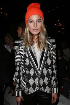 Model Dree Hemingway was photographed with her boyfriend in the front row for the Balmain Spring-Summer 2013 Ready-to-wear collection show held at Grand Hotel during Paris Fashion Week on 27 September Dree Hemingway, Christian Dior Couture, Anna Dello Russo, Fashion Week Paris, Winter Fashion, Poppy Delevingne, Style Blog, My Style, Jessica Chastain