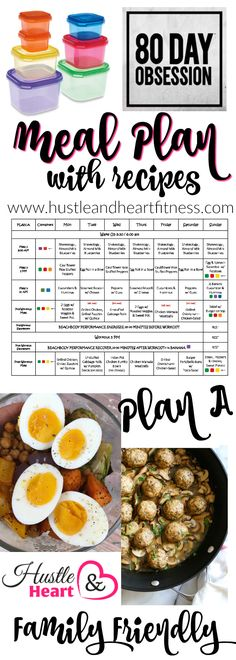 Hello WEEK 4!!! We are headed to Disney at the end of the week so this will be the last meal plan I share for the next two weeks (I will be back in actio
