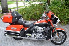 Harley-Davidson : Touring 2012 CVO HARLEY DAVIDSON SCREAMIN EAGLE ULTRA CLASSIC ELECTRA GLIDE ORANGE BLACK