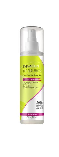 Effortless curls have never been so. The must-have curl spray gel for bouncy, shiny curls all day long. Shop online for the DevaCurl Curl Maker. Curly Hair Routine, Curly Hair Tips, Curly Hair Care, Curly Hair Styles, Underarm Hair Removal, Hair Removal Cream, Curling, Deva Curl Gel, Miracle Curl