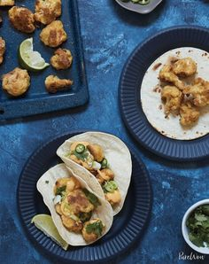 Crispy cauliflower tacos. Is there anything cauliflower can't do? Get the recipe here.