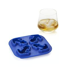 Was there today and missed this! Anchor Ice Cube Tray | Crate and Barrel