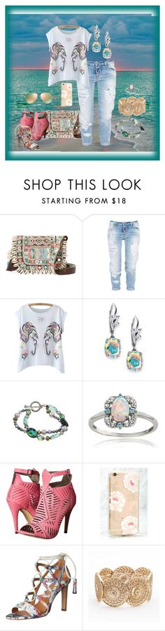 """""""MY SECOND SET WITH AN ELEPHANT PRINT....OMG,  DOES THIS MEAN i'M OBSESSED WITH ELEPHANTS IN PRINT?!?"""" by hrhjustcuz ❤ liked on Polyvore featuring Antik Batik, Dsquared2, Palm Beach Jewelry, Charming Life, Glitzy Rocks, Michael Antonio, Sonix, Elie Tahari, LC Lauren Conrad and Tory Burch"""
