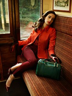 7f83603ec92c1c Ted Baker AW13 Lookbook - Take the Scenic Route Red Fashion