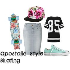Pentecostal /apostolic fashion by proud2bpentecostal on Polyvore featuring moda, Closed, Converse and Stay Cute