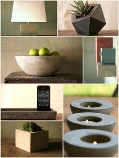concreto - é só usar a imaginação.