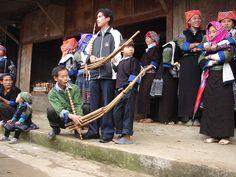 Ethnic groups in Vietnam with the Khen - their popular wind instrument. http://hoianfoodtour.com/  #ethinicgroups #khen #vietnam