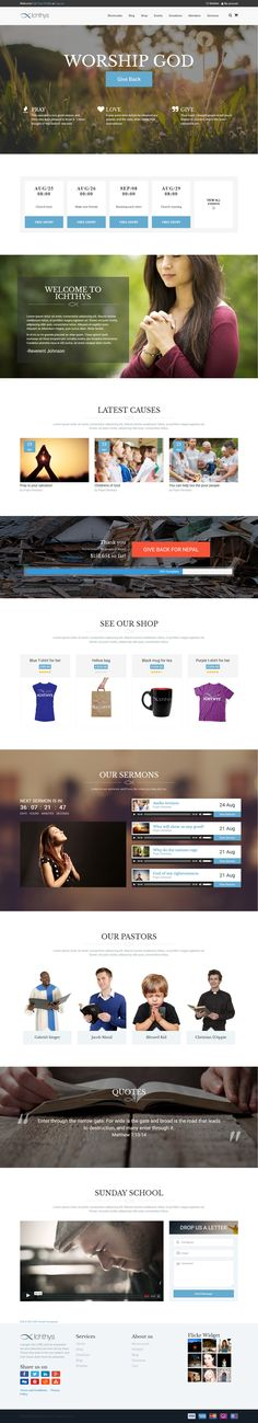 Hillsong Church Website | Web Design | Pinterest | Website, Colors