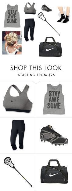 """May's Lacrosse Practice Outfit"" by collette-tyler on Polyvore featuring NIKE and Billabong"