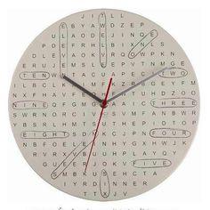 ¡Nos encantan los relojes raros!