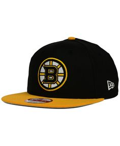 New Era Boston Bruins Stanley Cup Champ Collection 9FIFTY Snapback Cap