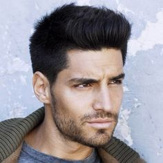 Check out these pictures for new men's hairstyles for thick hair. From buzz short to medium length, these cool looks are all 2015 trends and easy to style.