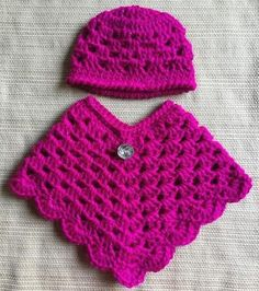 Best 11 Crochet American Girl Doll Poncho & Hat Set, Doll Clothes, Handmade, Our Generation Doll Outfit, Crochet Doll Clothes, Doll Clothes Patterns, Clothing Patterns, Crochet Baby Poncho, Crochet Poncho Patterns, Pdf Patterns, Free Crochet, Crab Stitch, Easy Stitch
