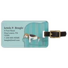 Happy Couch Beagle | Cute Dog Personalized Luggage Tag  pocket beagle, pink puppy, puppy dog face #catmania #jackrussell #sleepingbeauty, back to school, aesthetic wallpaper, y2k fashion Snoopy Beagle, Beagle Funny, Baby Beagle, Beagle Puppies, Personalized Luggage Tags, Custom Luggage Tags, Beagle Gifts, Dog Gifts, Cute Beagles