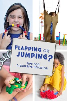 Blog: Flapping or Jumping - Tips for Disruptive Behaviors | Ways to help kids on the autism spectrum manage stimming and other repetitive behaviors