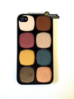 Iphone 4 Case Eye Shadow Makeup iPhone 4S Case by KeepCalmCaseOn