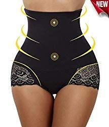New Woman/'s Avon Black Neoprene Trimming Short Size Medium M Workout Body Shaper