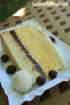Torte Recepti, Kolaci I Torte, Coconut Desserts, Easy Desserts, Jednostavne Torte, Baking Recipes, Cookie Recipes, Croation Recipes, Homemade Cakes