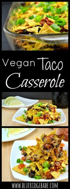 Budget friendly & delicious vegan taco casserole recipe