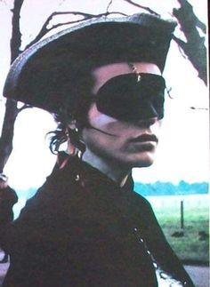 Dandy highwayman Adam Ant