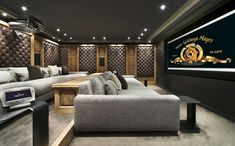 Media room: Luxurious Chalet Edelweiss in Courchevel 1850