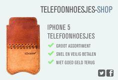 Op zoek naar een iPhone 5 hoesje? Op telefoonhoesjes-shop vind je uitgebreid aanbod van telefoonhoesjes. Ben je bijvoorbeeld op zoek naar een iPhone 5 sleeve, of een iPhone 5 bookcase. Kijk dan snel op onze site.