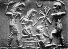 Sumer - Combat entre humains et Reptiliens