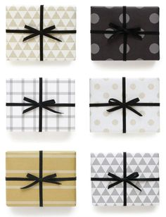 Holiday gift wrap ideas and inspiration