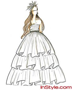 Fashion Design Dress Sketches fashion sketches short wedding