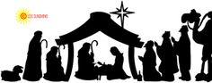 Nativity row