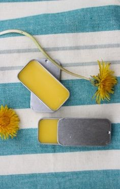 DIY Dandelion Lip Balm in my latest DIY article …….  (many last minute Mother's Day Gift DIY Ideas)
