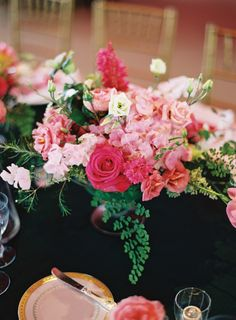 Florals by Blossoms Events, image by Tec Petaja. See more in the Fall 2013 Issue of Weddings Unveiled. www.weddingsunveiledmagazine.com.