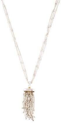Raindance Tassel Pendant Necklace Pendant Necklace Sterling Silver Jewelry Pendants
