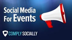 http://complysocially.com/online-social-media-policy-training/event-marketing-social-media/ Learn social media event marketing, increase conversion rates at trade shows and build strong anticipation for upcoming special events in this self-paced social media training course. Learn anytime, anywhere on your computer, smart phone or tablet in this self-paced, online course that you can take right now.