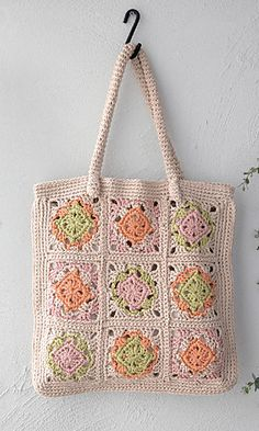 amicomo6-5 Motif Lesson Bag - PDF Pattern with Chart <3
