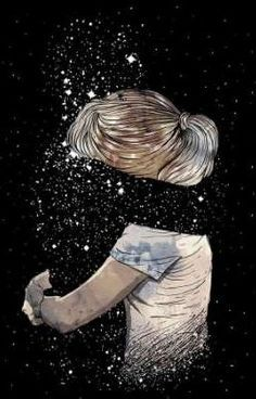 My grief is too big to hide. I miss you! Galaxy Wallpaper, Wallpaper Backgrounds, Bts Wallpaper, Love Drawings, Art Drawings, Miss Mom, Arte Obscura, Sad Art, Love Images