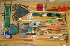 40 Garden Tools -- NWF's Certified Wildlife Habitat program turns 40 years old, celebrate with cool arrangements of 40 objects!