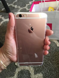 Love my Rose Gold IPhone 6s Plus