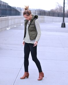 cargo vest, stripes