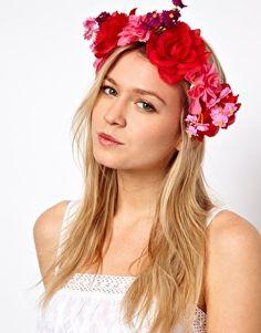 Bild 1 von ASOS – Garland – Haarband mit Blumen