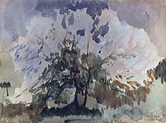 1907 Дерево в цвету. Мартирос Сарьян (1880-1972)