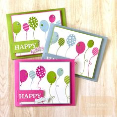 Happy Birthday - So Much Happiness bundle - Stampin' Up! - Fiona Bradley - handmade card Birthday Cards, Happy Birthday, My Crazy, Cool Cards, Creative Cards, Stampin Up Cards, Handmade Cards, Holiday Cards, Celebrations