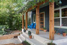 Casa Corbino - AIA Austin Homes Tour 2013 - contemporary - porch - austin - Merzbau Design Collective